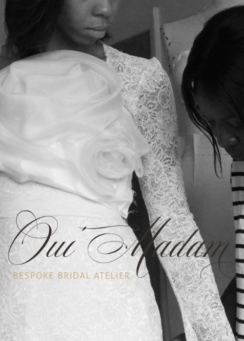 Bespoke Bridal Gown design and fitting process