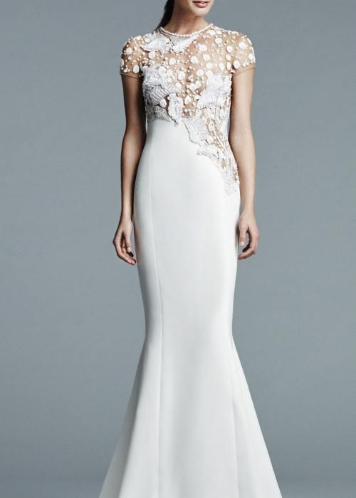Naked Wedding Dresses, elegant gowns