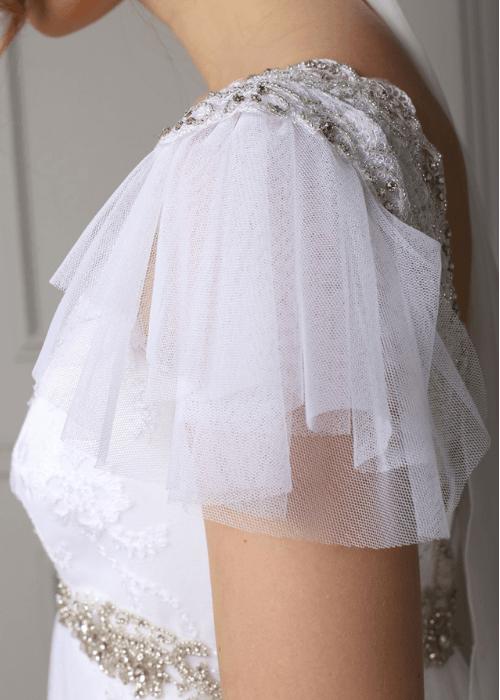sparkly bohemian wedding dress