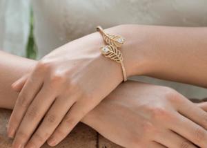 Bridal Accessories Berkshire, rose gold bridal bracelet