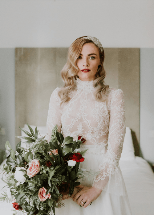 Designer wedding dress Berkshire and London