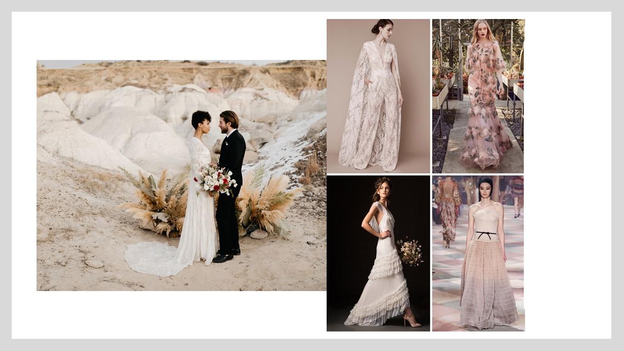Elegant wedding dress ideas for older brides
