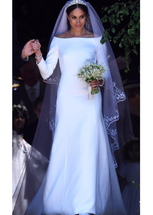 Royal wedding dresses, Megan Markle's wedding dress