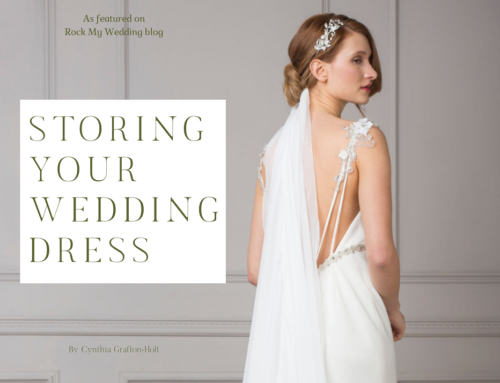 Bespoke Wedding Dress Designer | Storing A Wedding Dress